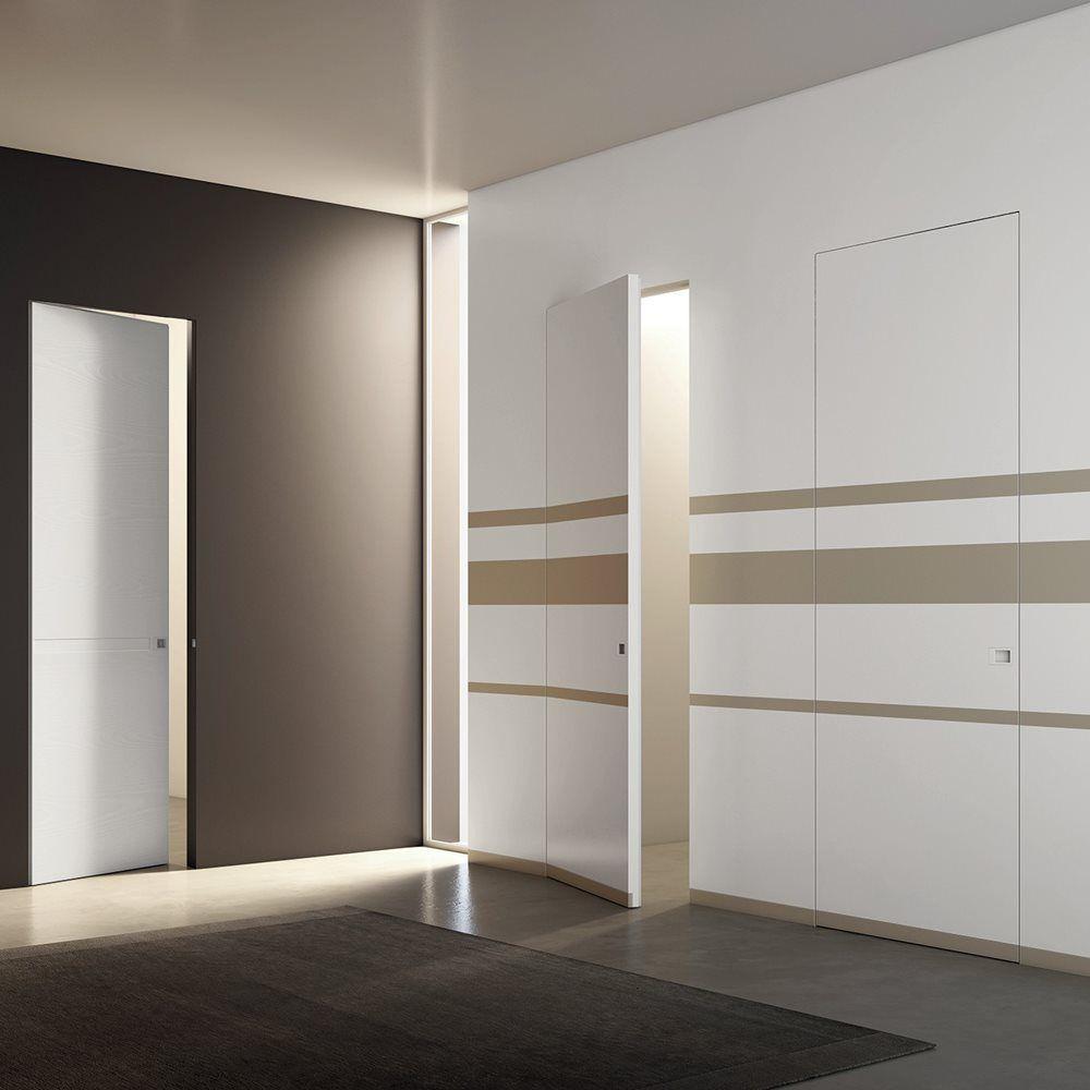 Porte Filo Muro Specchio trento e bolzano porte interne legno - vetro - laminato