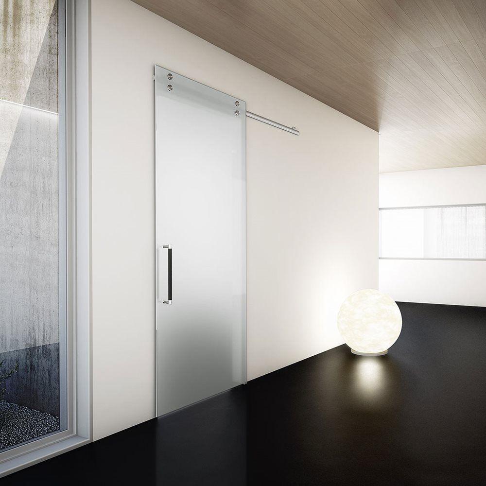Porta Scorrevole Esterna Vetro trento e bolzano porte interne legno - vetro - laminato